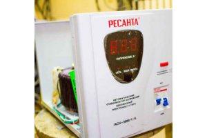 Ремонт стабилизатора напряжения Ресанта АСН 5000