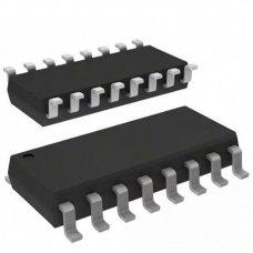 74HC595D,118, 8-и битный сдвиговый регистр с выходным регистром-защелки и тремя состояниями, [SO-16]